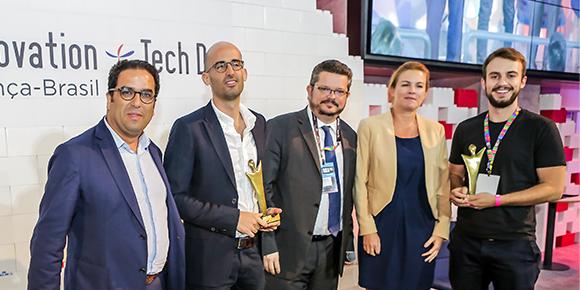 Confira os vencedores do Prêmio Startup 20192019,prêmio da Câmara de Comércio França-Brasil São Paulo em parceria com a Business France.