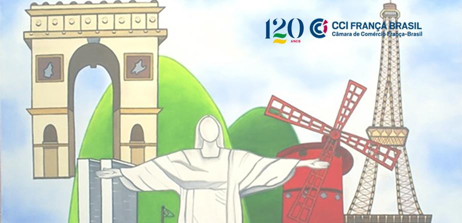 120º aniversário da Câmara de Comércio França-Brasil comemora parceria de longa data entre Brasil e França.