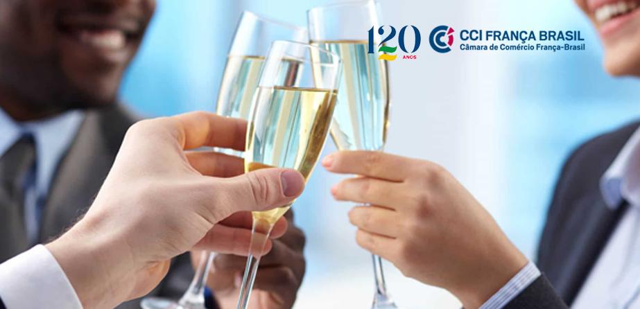 Para celebrar seu centésimo vigésimo aniversário, a Câmara de Comércio França-Brasil terá eventos comemorativos ao longo de todo o ano.