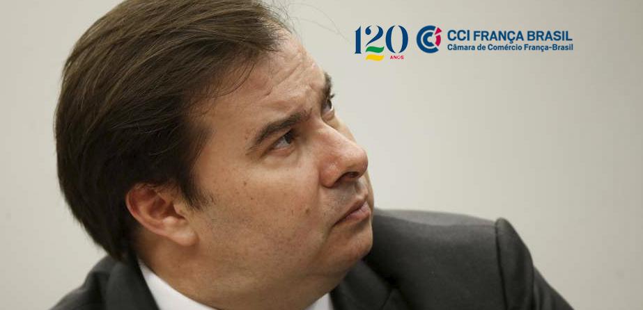 Em videoconferência promovida pela CCI França-Brasil, Rodrigo Maia, afirmou que pretende trabalhar avanço da PEC que permite prisão em 2ª instância.
