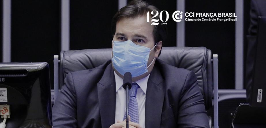 Segundo Maia, em encontro promovido pela CCI França-Brasil, a prioridade nas reformas de MPs será a retomada da tramitação da tributária.