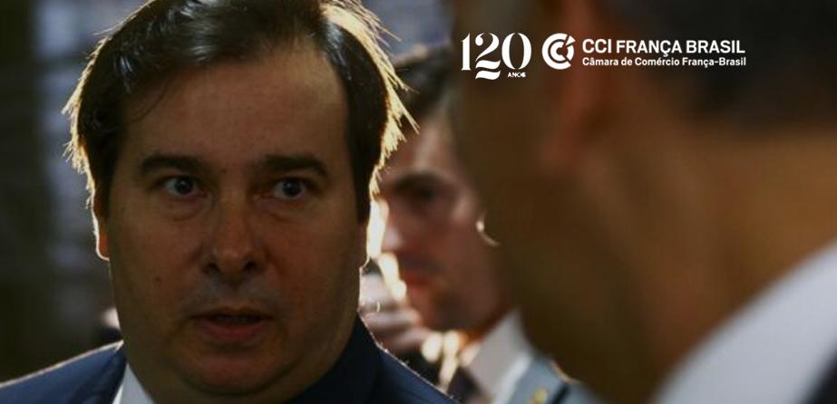 Durante videoconferência promovida pela CCI França-Brasil, Rodrigo Maia afirmou que reforma tributária é peça chave para retomada da economia pós-pandemia.