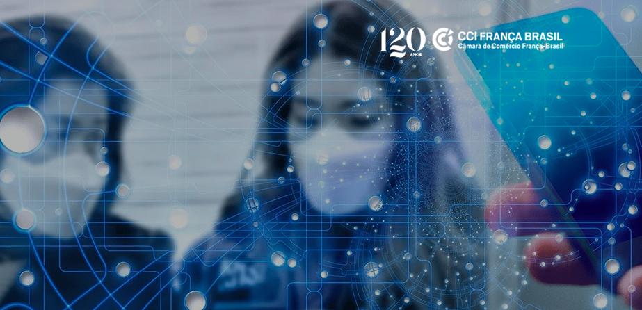 Segundo a pesquisa Barômetro Ipsos-CCIFB, o COVID-19 acelerou o processo de transformação digital nas empresas participantes do estudo.